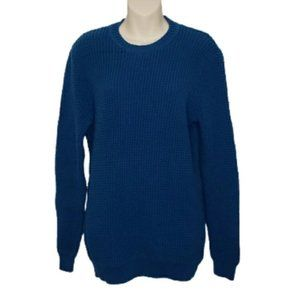 AMERICAN EAGLE teal seriously soft knit sweater